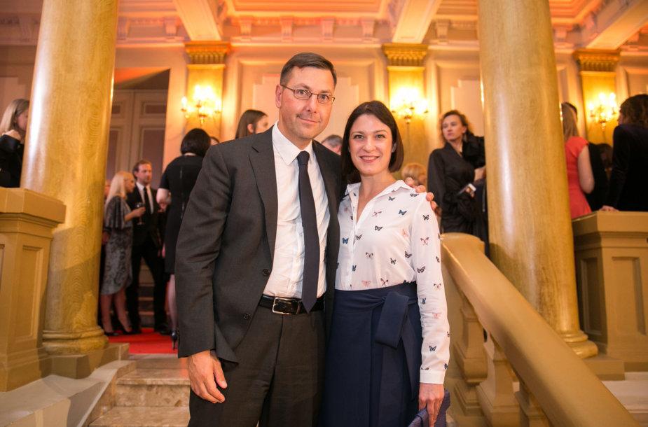 Gintaras Steponavičius ir Vaidė Žygutytė