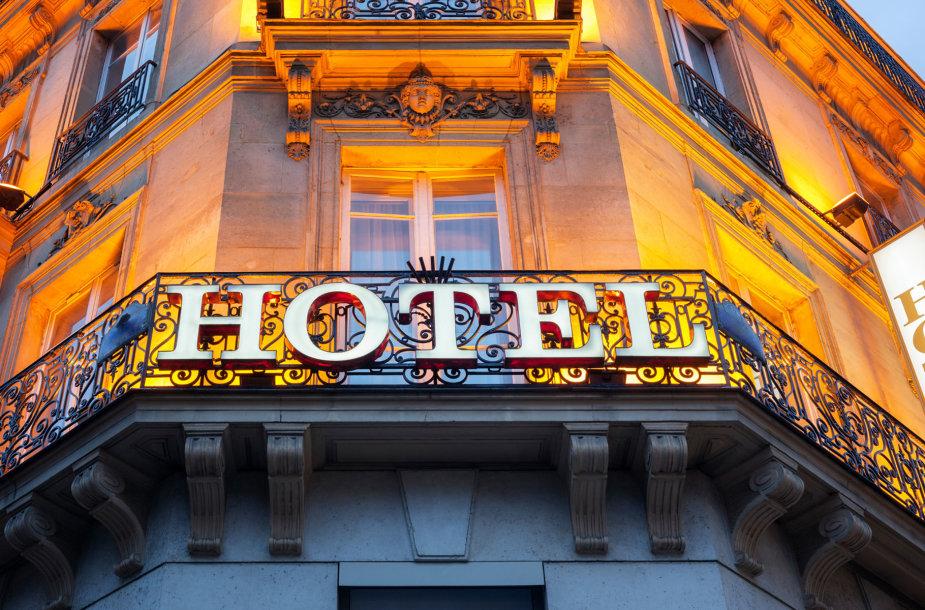 Viešbutis Paryžiuje