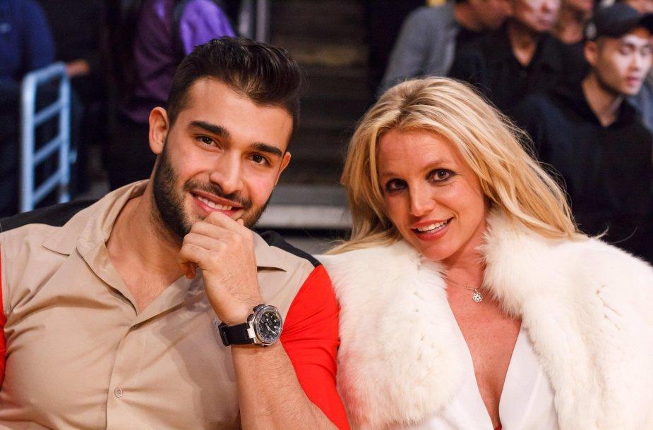 Samas Asghari ir Britney Spears