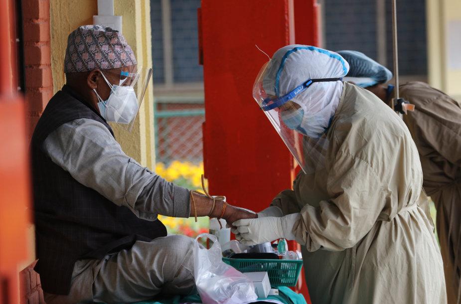 Ligoninė Nepale
