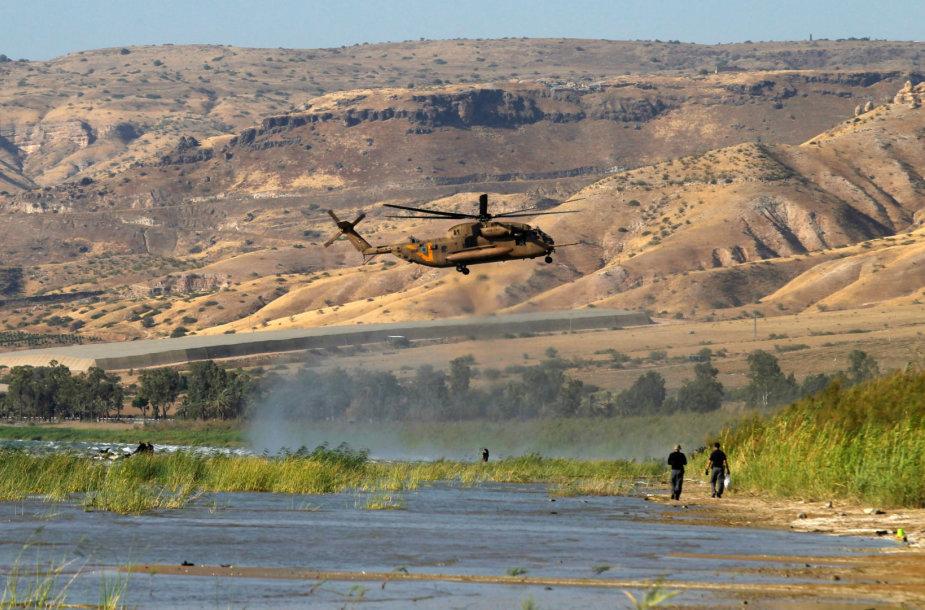 Izraelio pajėgos ieško bepilotės skraidyklės