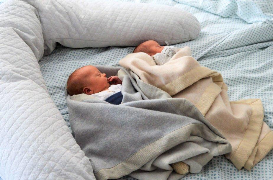 Šiemet Kauno klinikinėje ligoninėje per savaitę sulauktą tiek dvynukų, kiek pernai per visus metus