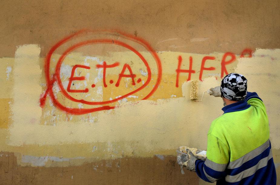 Baskų separatistų grupuotė ETA