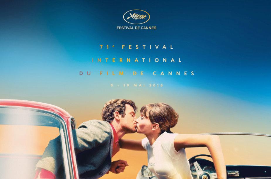Kanų kino festivalio plakatas