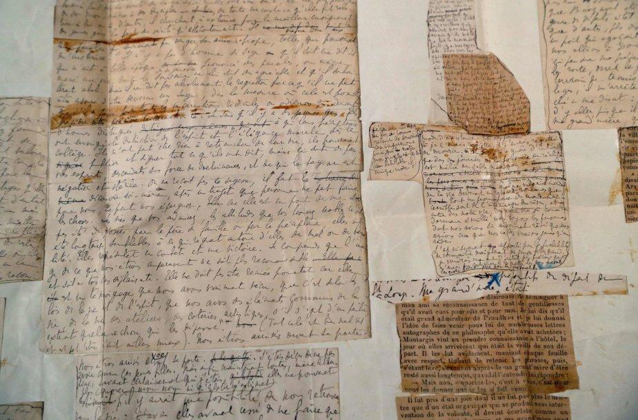 Marcelio Prousto rankraščiai
