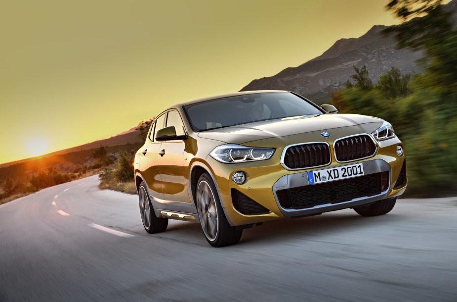 BMW koncernas pristatė naują X gamos modelį – BMW X2.