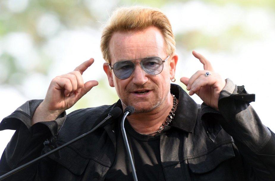 8 vieta: dainininkas Bono – 610 mln. JAV dolerių