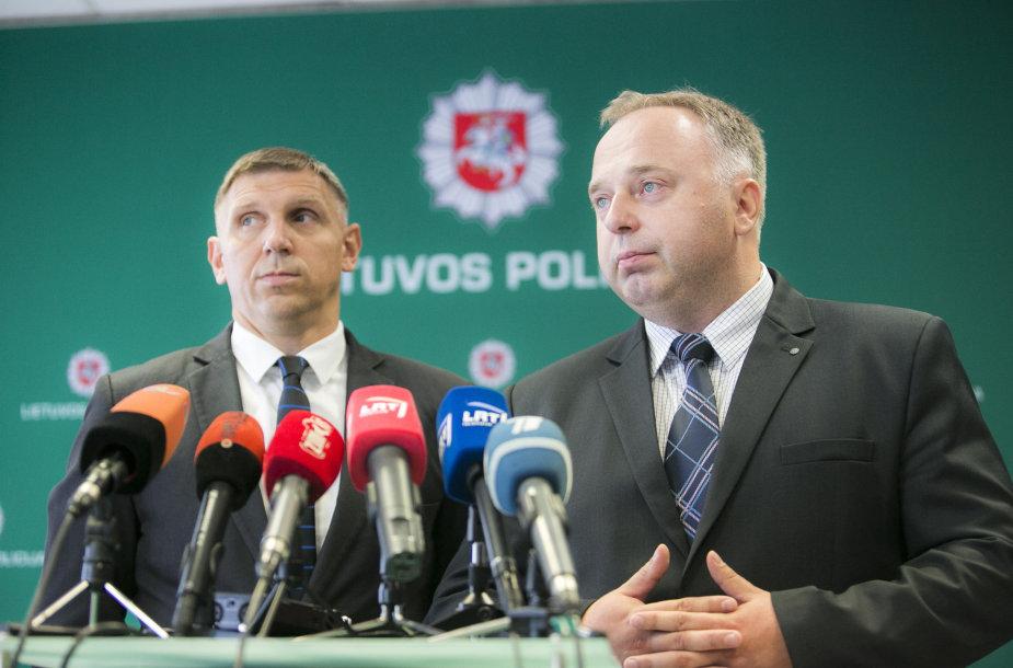 Andrejus Rudnickis ir Donatas Mažeika