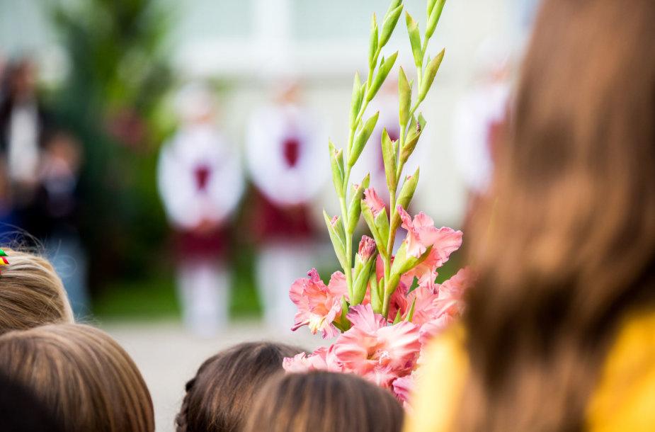 Rugsėjo 1-oji Vytės Nemunėlio pradinėje mokykloje