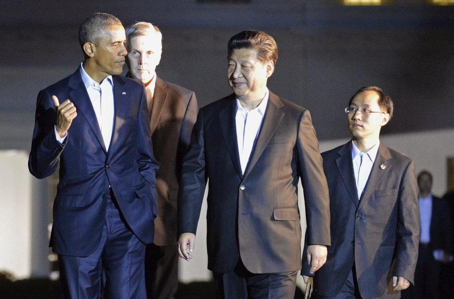 Barackas Obama ir Xi Jinpingas