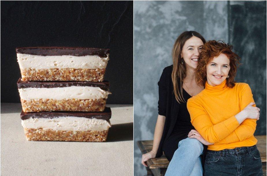 Tinklaraštininkės Rūta ir Asta bei jų gaminti skanėstai