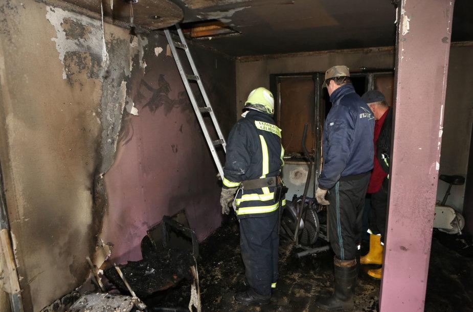 Šilalės rajone per gaisrą gyvenamajame name žuvo vyras.
