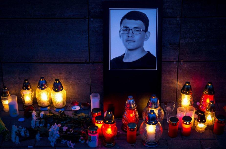 Slovakijoje ir Čekijoje pagerbiamas J.Kuciako ir jo draugės atminimas