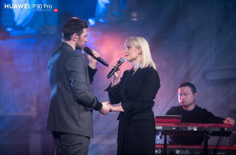 Jurijus Veklenko ir Inga Jankauskaitė