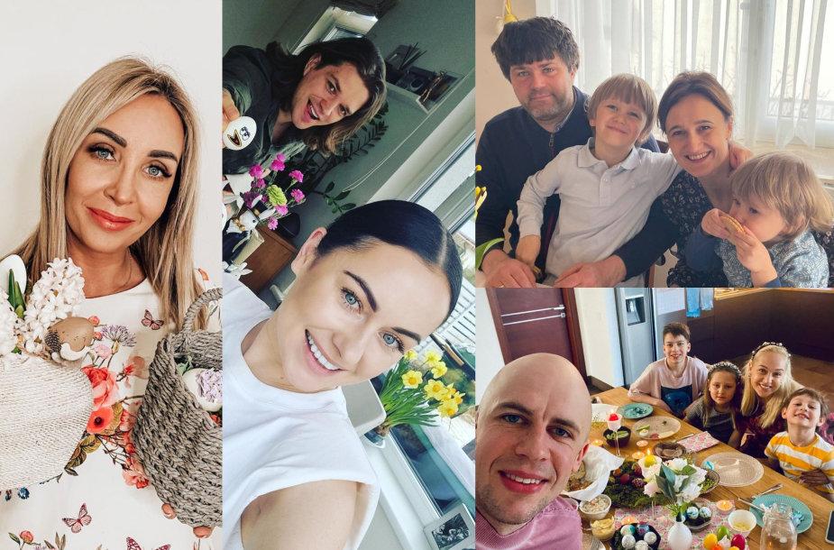 Gerda Žemaitė, Simona ir Jonas Nainiai, Viktorijos Čmilytės-Nielsen šeima, Vidas Bareikis, Indrė Stonkuvienė