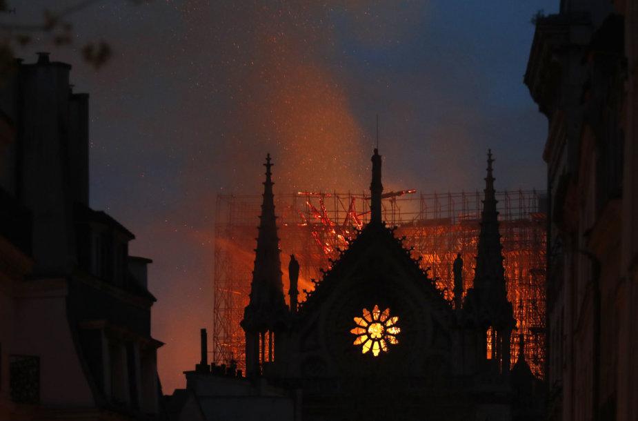 Deganti Paryžiaus Dievo Motinos katedra