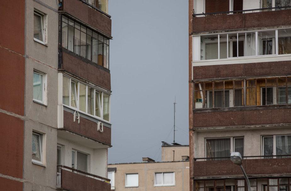 Seni daugiabučių balkonai