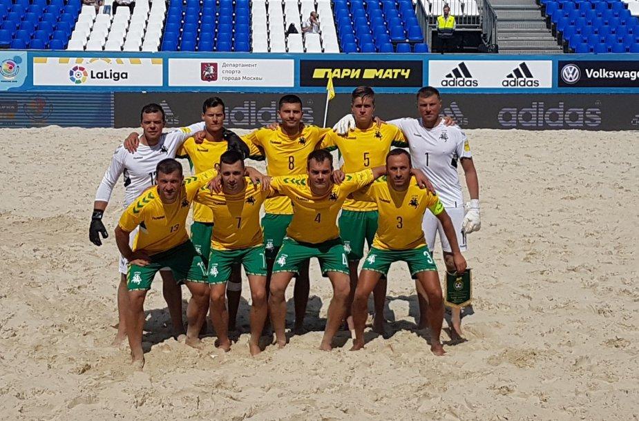 Lietuvos paplūdimio futbolo rinktinė