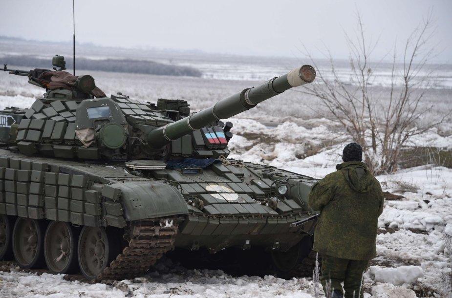 Tankas Rytų Ukrainoje