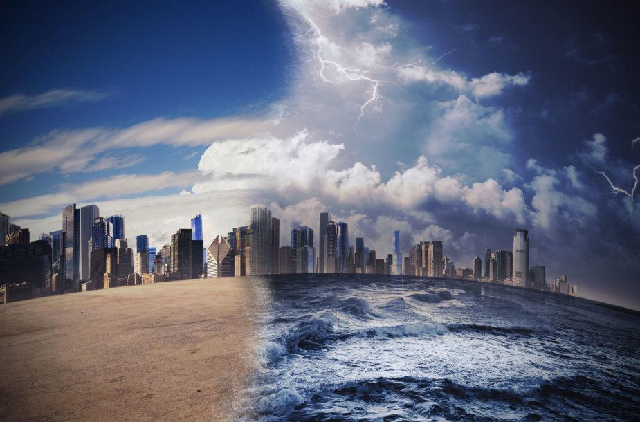 Klimato kaitos sukeliami orų kraštutinumai