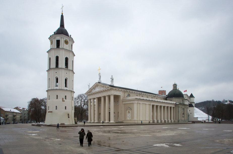 Vilniaus arkikatedra bazilika ir varpinės bokštas