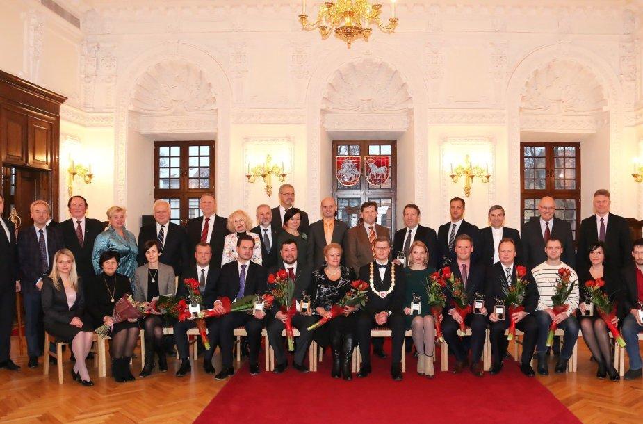 Kauno įmonėms įteikti Verslo taurų apdovanojimai