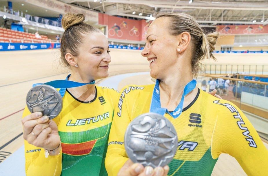 Miglė Marozaitė ir Simona Krupeckaitė