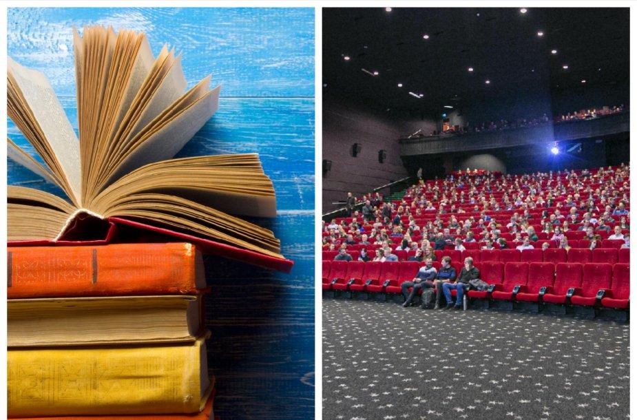 Knygos ir filmai