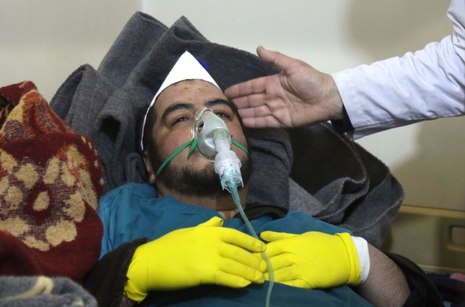 Cheminio ginklo ataka Sirijoje