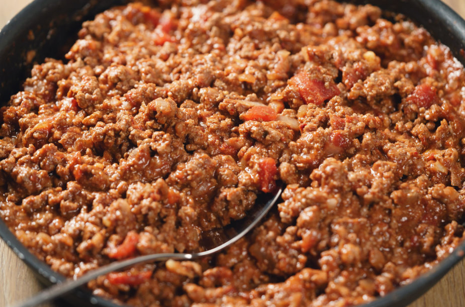 Mėsos įdaras lazanijai