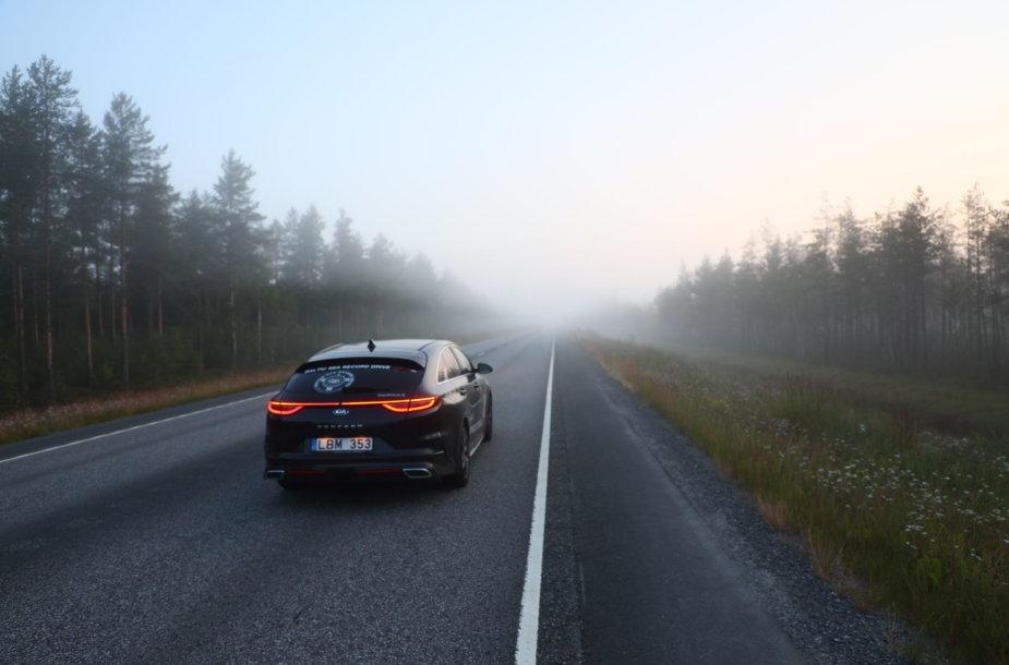 Kelionė automobiliu per Baltijos šalis