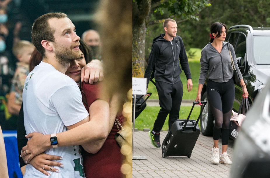 Lukas Lekavičius su širdies drauge Melina