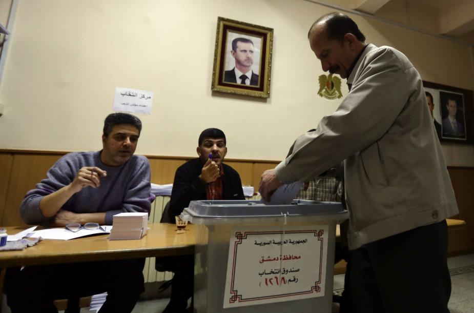 Rinkimai Sirijoje