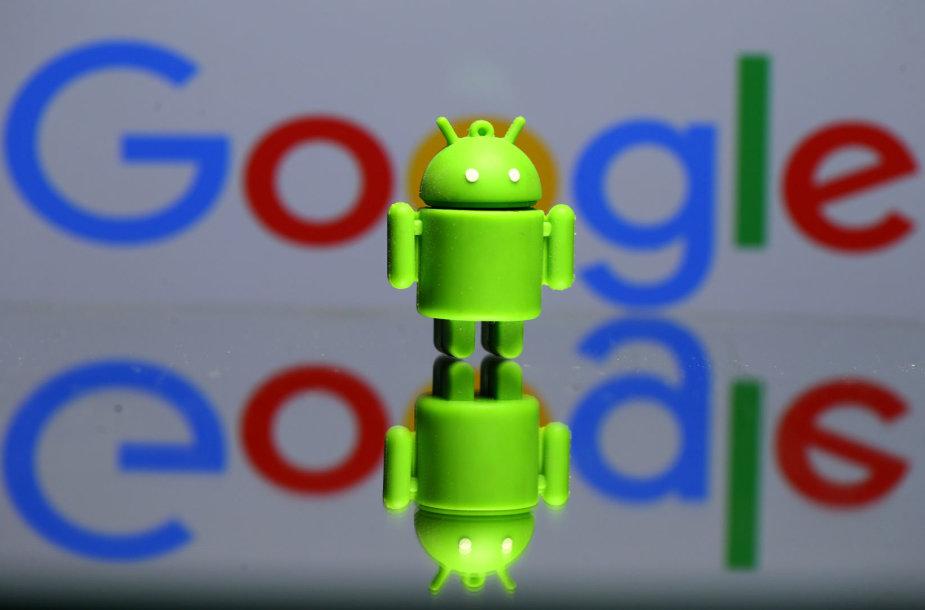 """Google Android"" talismanas"