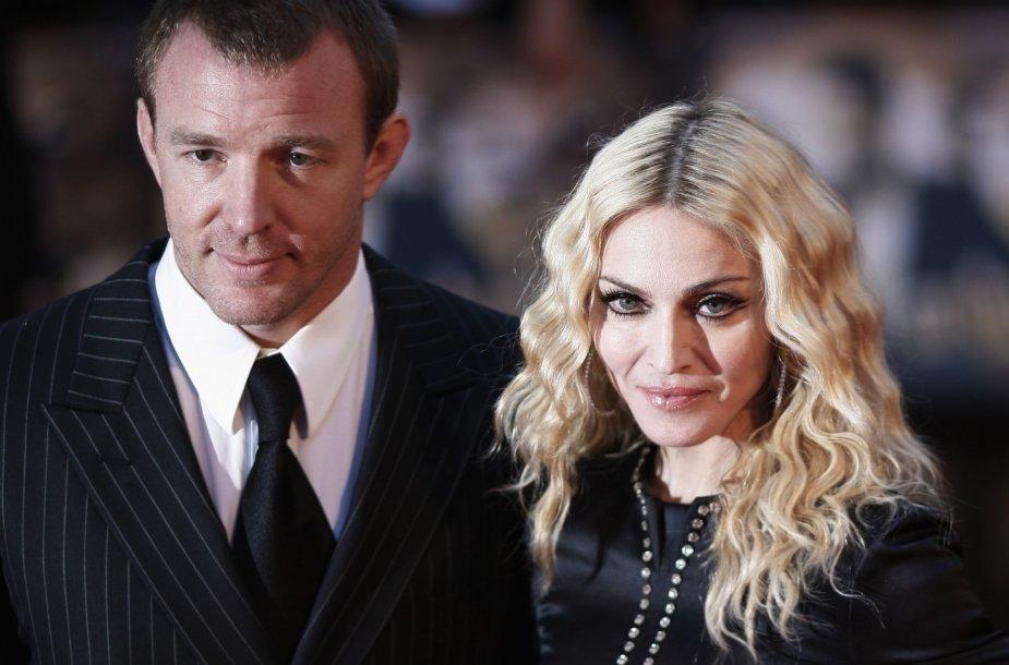 Madonna ir Guy Ritchie (2008 m.)