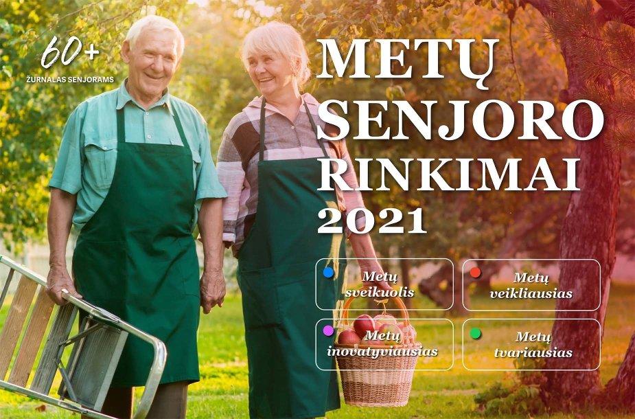 Metų senjoro rinkimai 2021