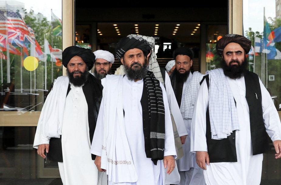 Talibano derybininkai
