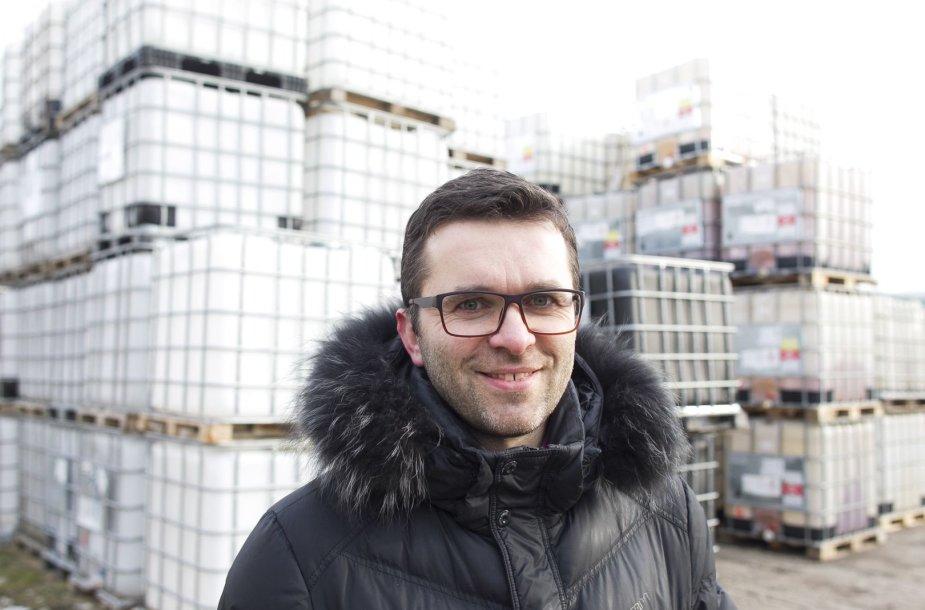 """UAB """"Biomotorai"""" vadovas Donatas Karanauskas"""