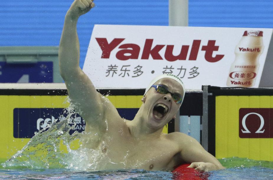 Danas Rapšys pasaulio čempionate Kinijoje.