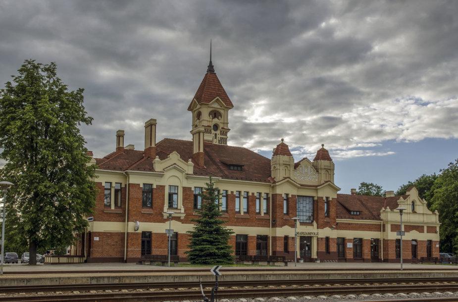 Marijampolės geležinkelio stotis viena puošniausių šalyje