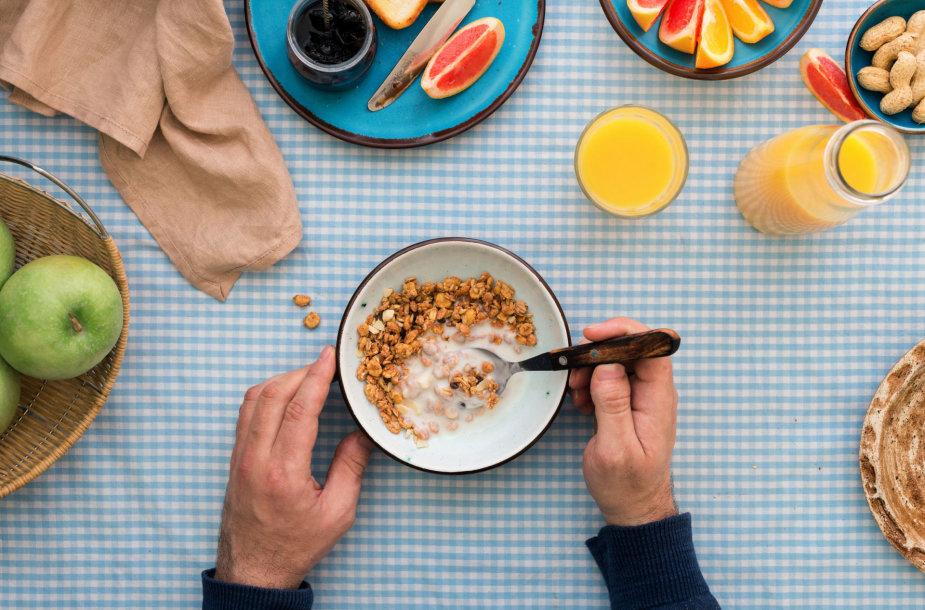 Jogurtas itin tinkamas pusryčiams