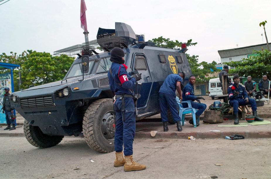 Kongo Demokratinės Respublikos policininkai