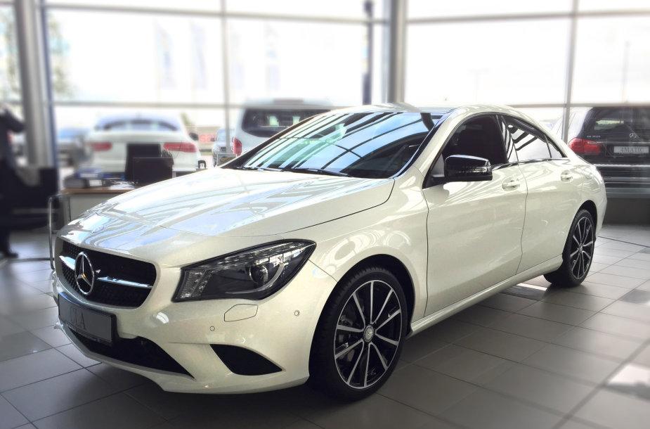 Laimingajam atiteks Mercedes-Benz CLA 200
