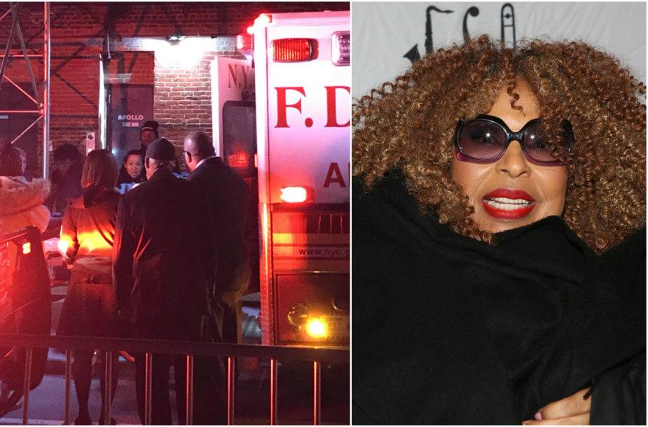 Robertai Flack po koncerto Niujorke prireikė medikų pagalbos