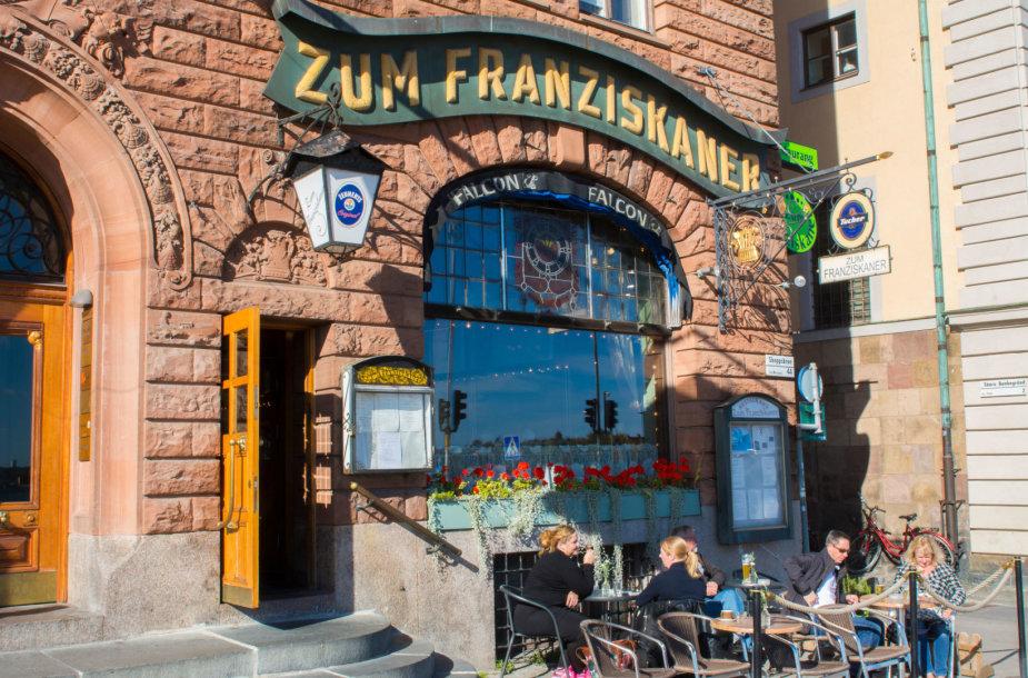 """""""Zum Franziskaner"""" restoranas Stokholme"""