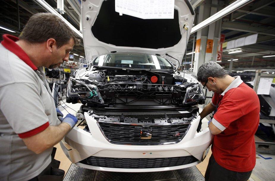 Ispanijos automobilių pramonė – viena iš gamybos šakų, kurios didina apimtis.