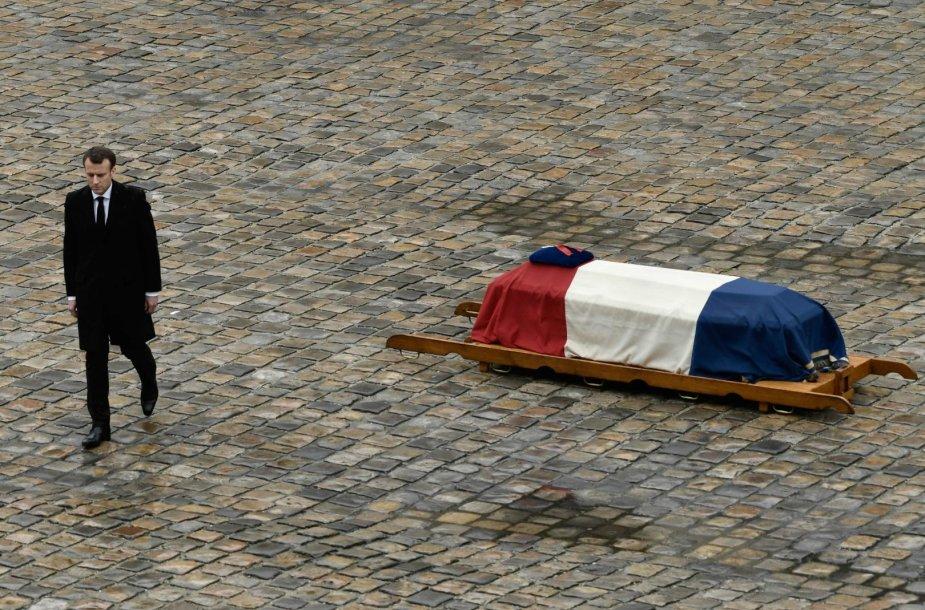 Prancūzija atsisveikina su didvyriu policininku