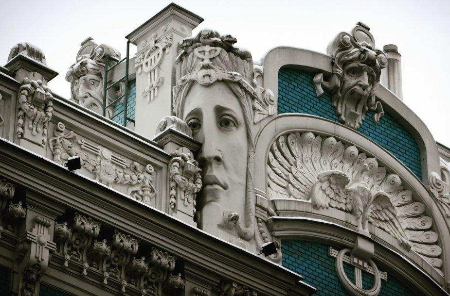 Art nouveau architektūra Rygoje