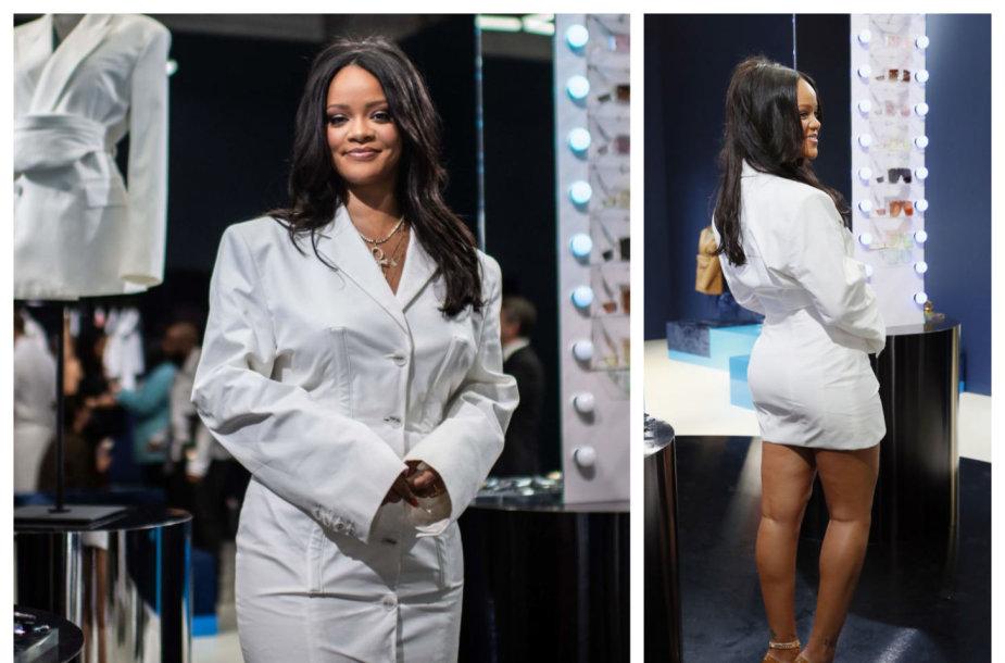 Rihanna Paryžiuje pristatė savo drabužių kolekciją
