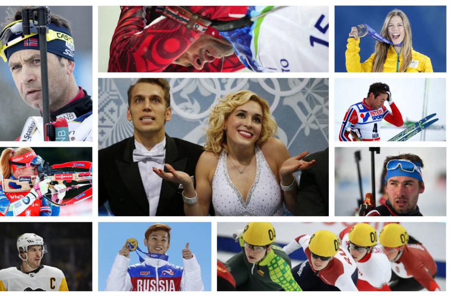 Pjongčango žaidynėse neišvysime dalies ryškių atletų.